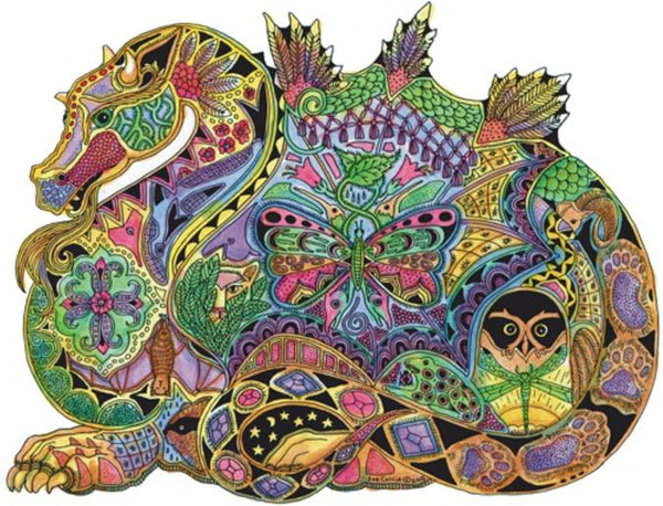 Dragon Puzzle by Sue Coccia