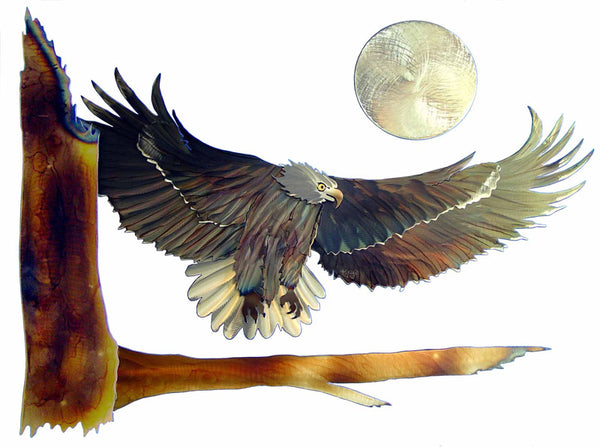 Eagle Incoming Steel Art