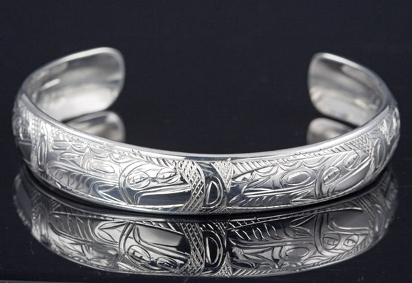 Halibut Silver Bracelet by Chilton