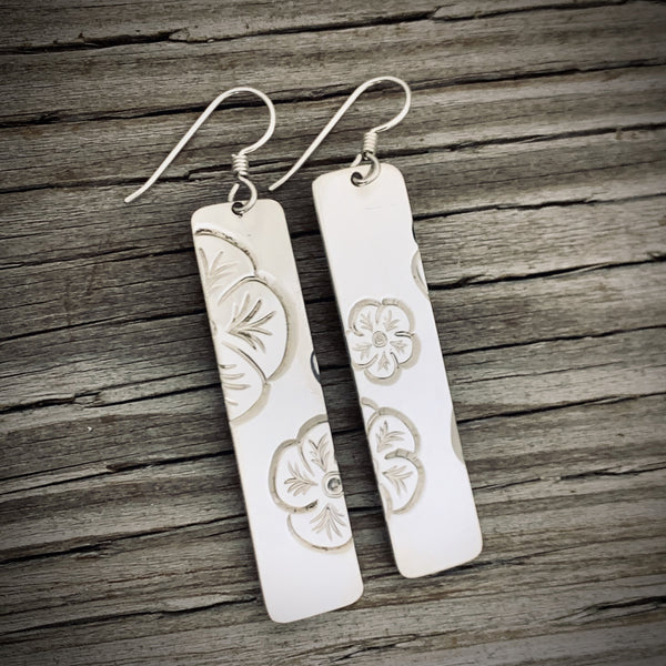 Sitka Rose Earrings by Rob Martin
