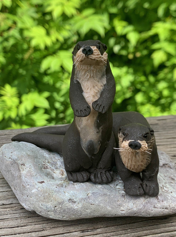 River Otter Pair