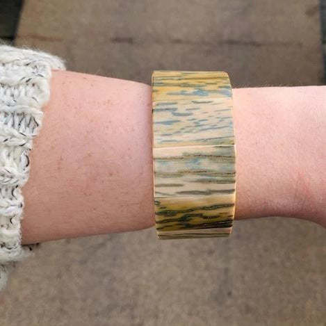 Mammoth Ivory Stretch Bracelet
