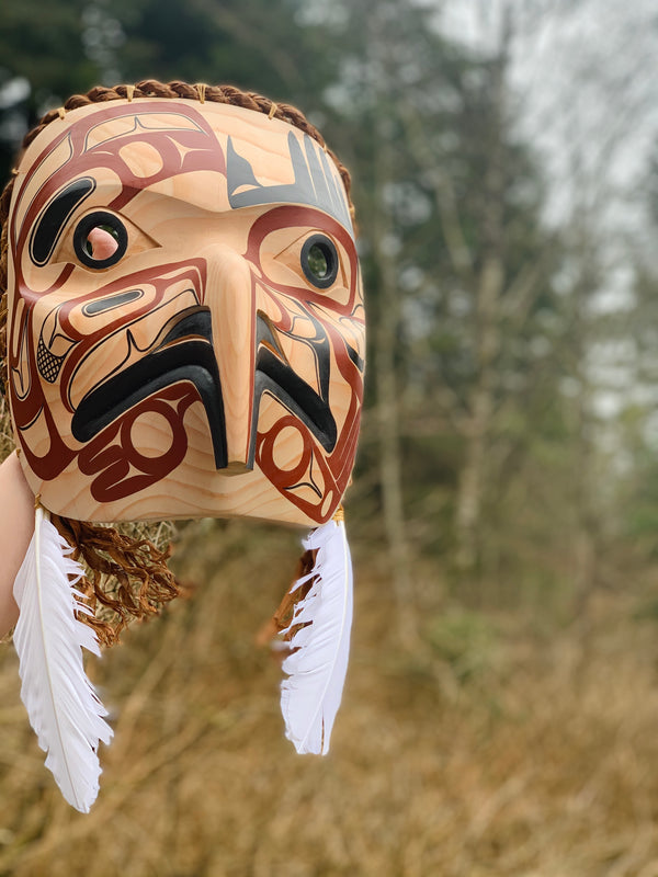 Eagle Mask by David Boxley