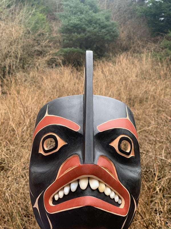 Killer Whale Mask by David Boxley