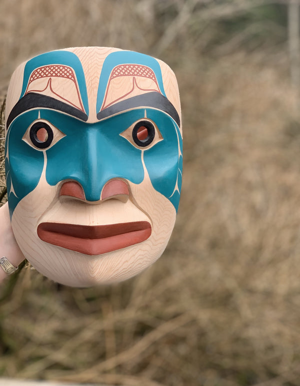 Warrior Mask by David Boxley