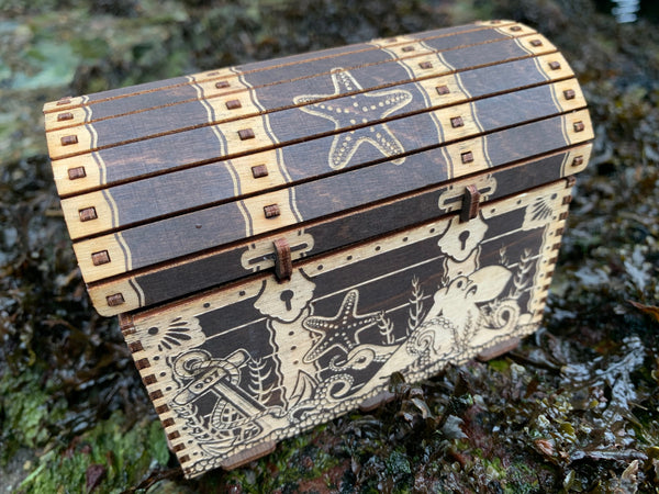 Treasure Chest Wooden Kit