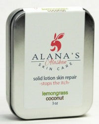 Lemon Blast-Coconut 3oz Lotion Bar