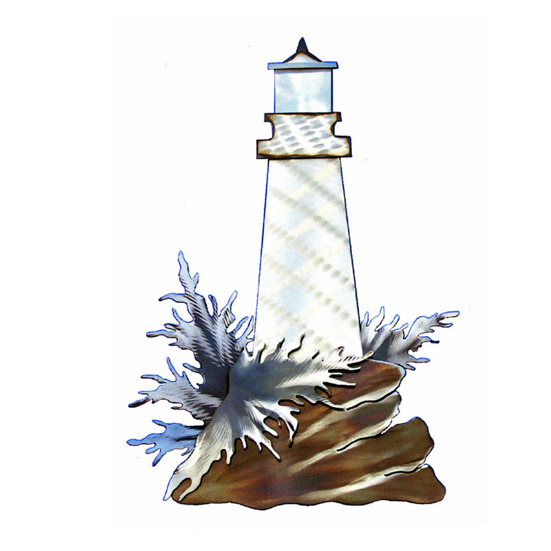 Lil Lighthouse Steel Art
