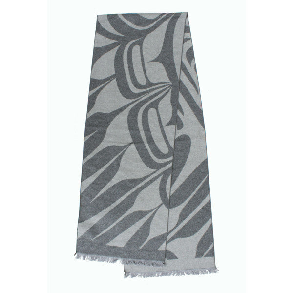 Brushed Silk Scarf - Eagle