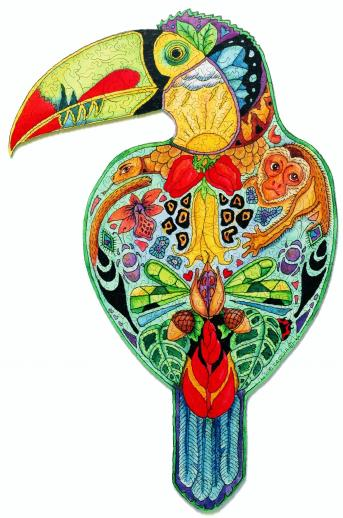 Toucan Puzzle by Sue Coccia