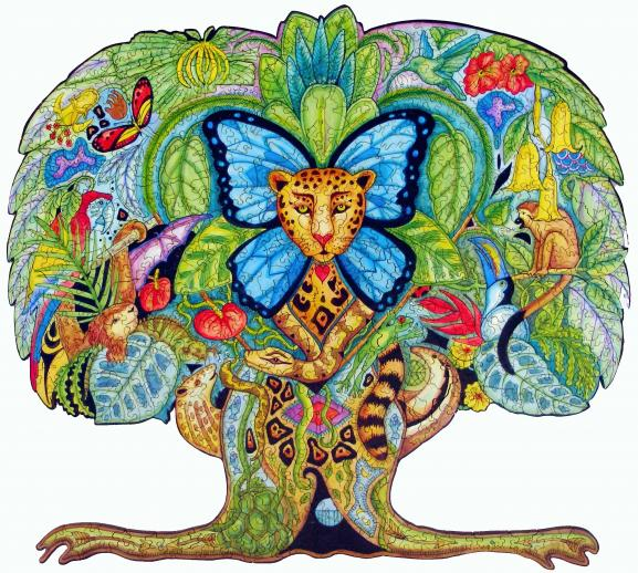 Tree of Life Puzzle by Sue Coccia