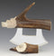 Caribou Bear Carving with Tine Ulu