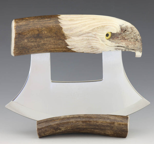 Caribou Eagle Carving  Ulu
