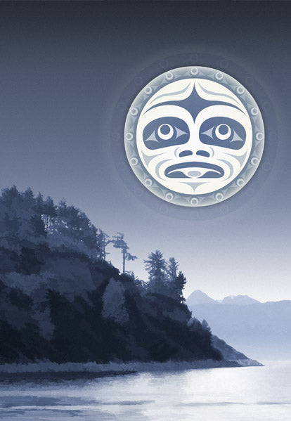 Under A Salish Moon by Andy Everson