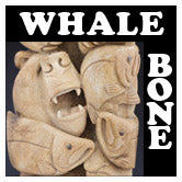 Whale Bone Carvings
