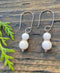 Mammoth Ivory Egyptian Loop Earrings
