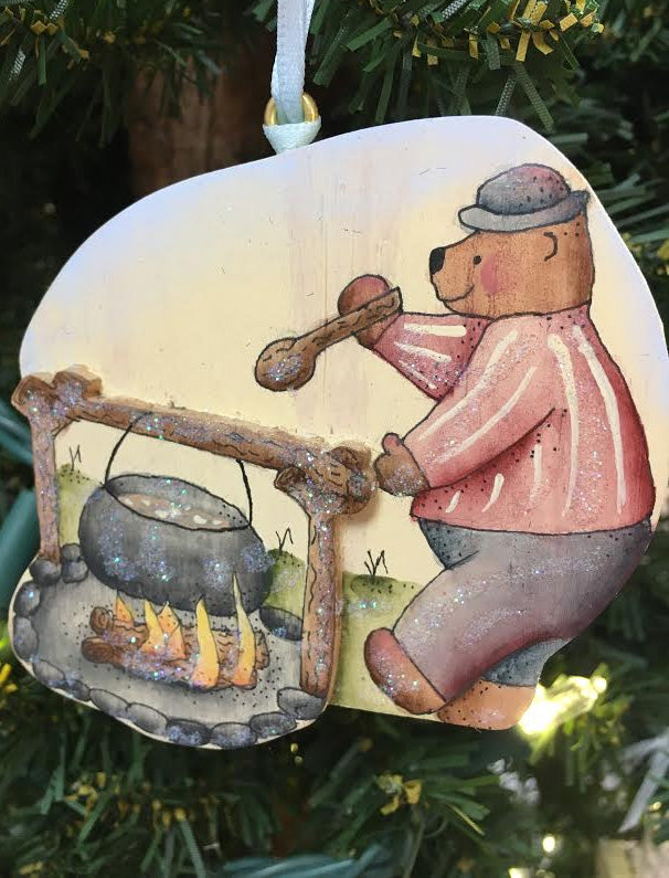Bear Camp Cook Ornament