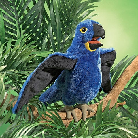 Blue Macaw Puppet