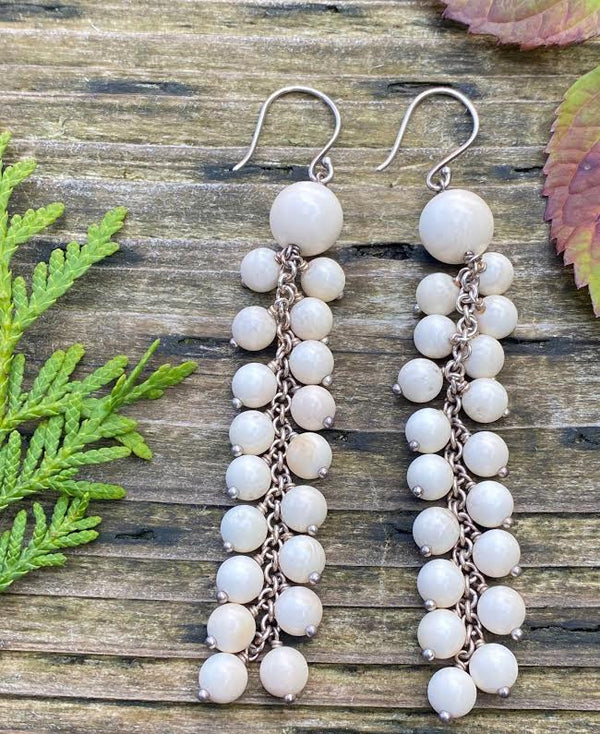 Serpant Ivory Earrings