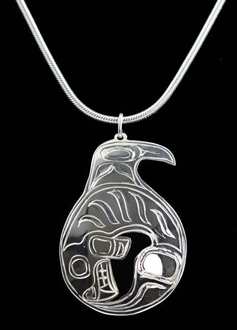 Pendant- Killer Whale by Gene Chilton