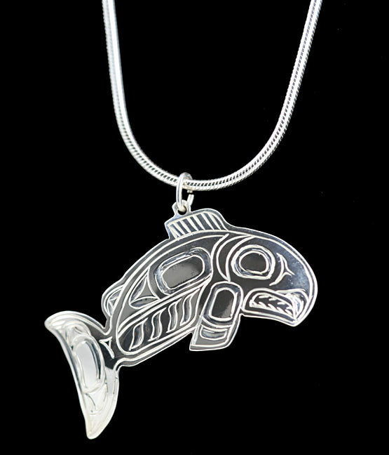 Pendant- Salmon by Gene Chilton