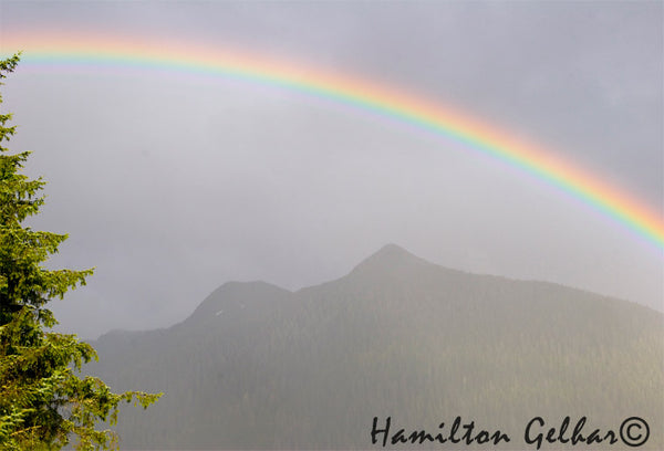 Rainbow over Deer Mountain