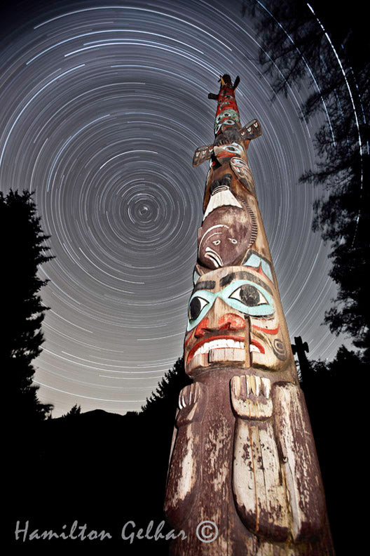 Starry Night at Totem Bight