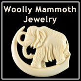 Woolly Mammoth Ivory Jewelry