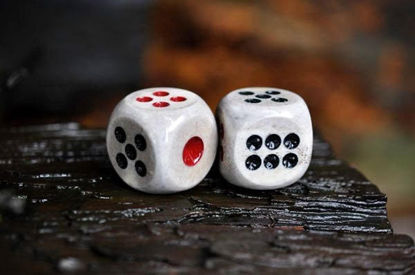 Antler Dice Set