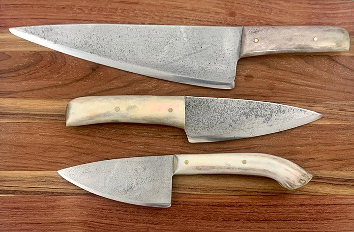 French Knife Antler Handle