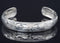 "Bear 6"" Silver Bracelet by Chilton"