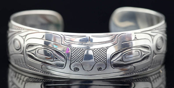 Bear Silver 3/4 Bracelet by Greg Horner