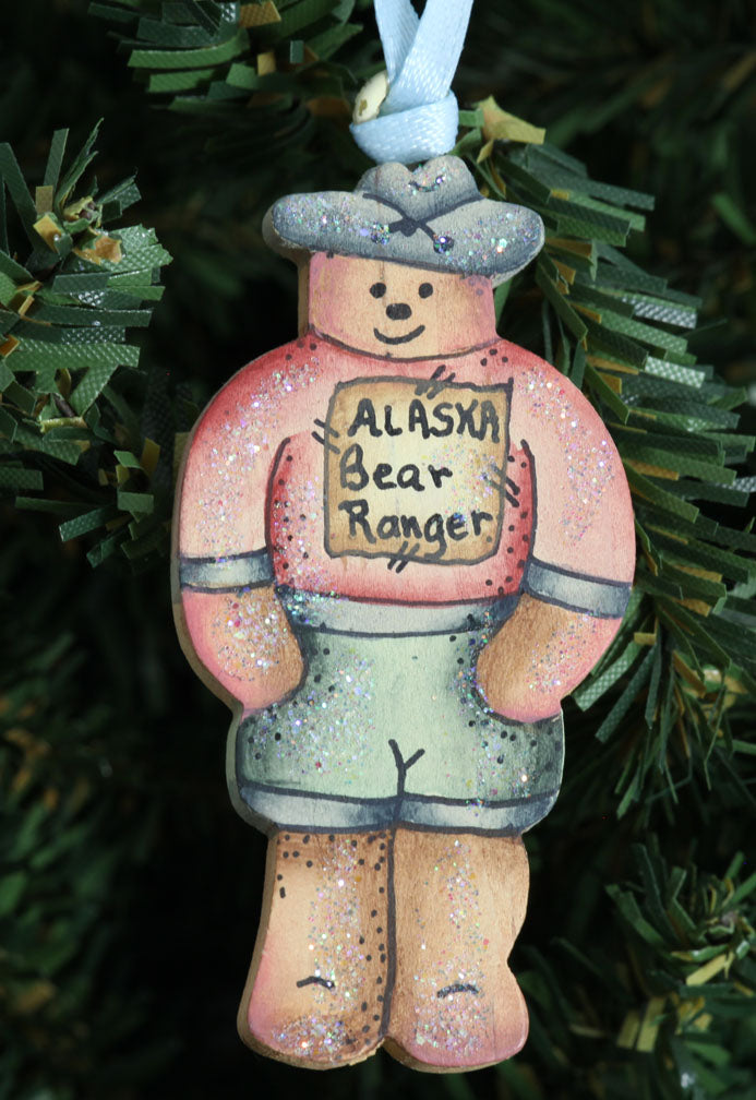 Small Bear Ranger Ornament