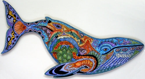 Blue Whale Puzzle by Sue Coccia