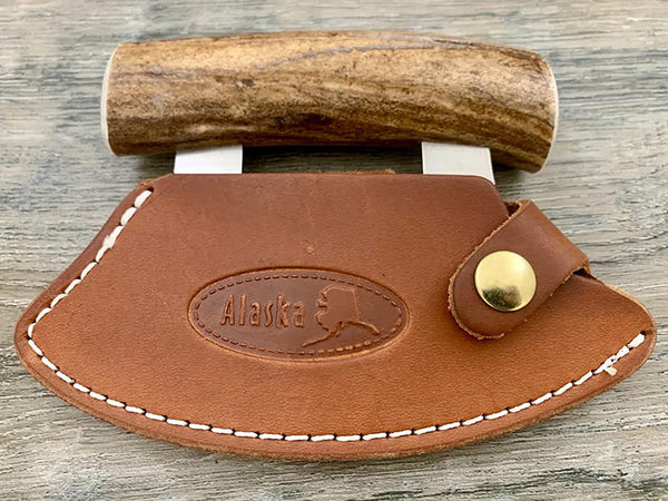 "6"" Leather Ulu Sheath"