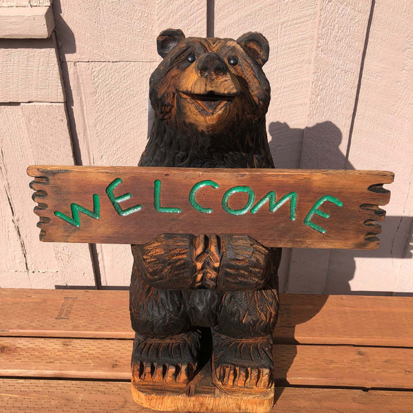 Welcome / Go Away Bear