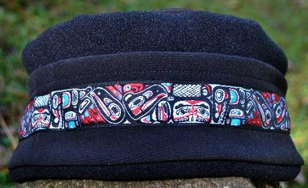 Aurora Totem Hat - Black
