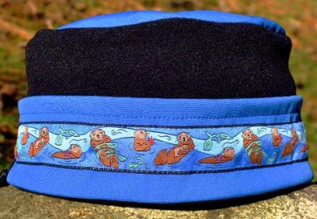 Aurora Sea Otter Hat - Pacific Blue