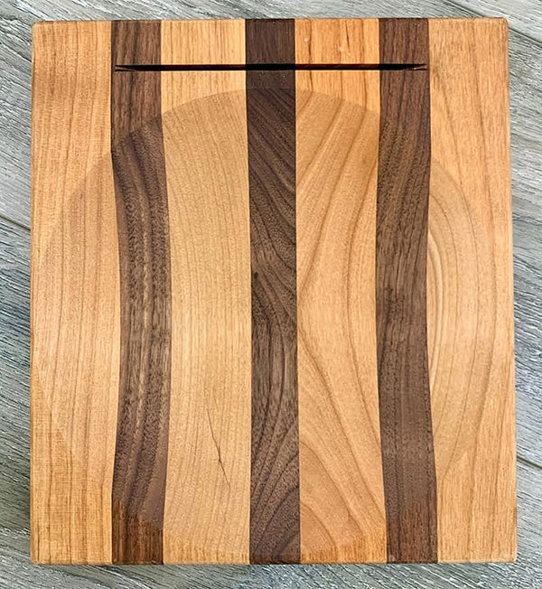 "8"" Alder Ulu Cutting Board - Bowl"