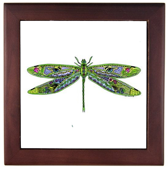 Dragonfly Trivet by Sue Coccia