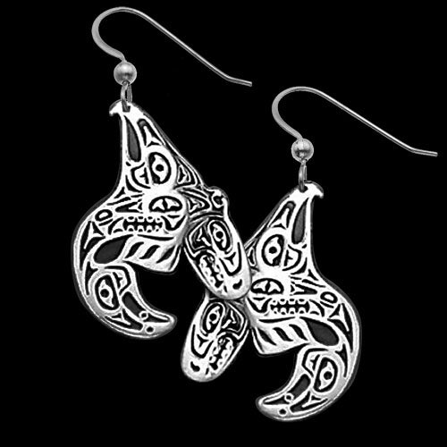 Eagle- Raven - Orca Earrings