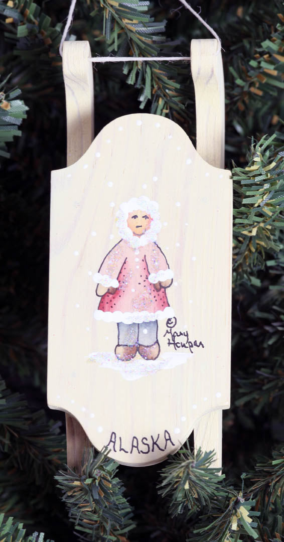 Sled Ornament (Eskimo)