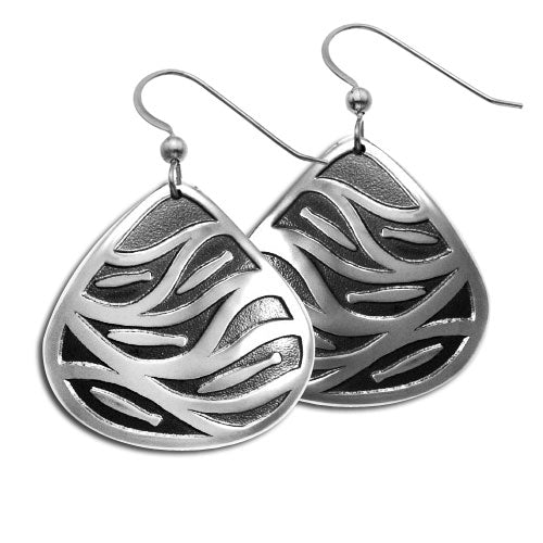 Fish Run Earrings by George Estrella
