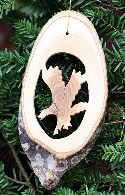 Olive Wood Ornament- Eagle