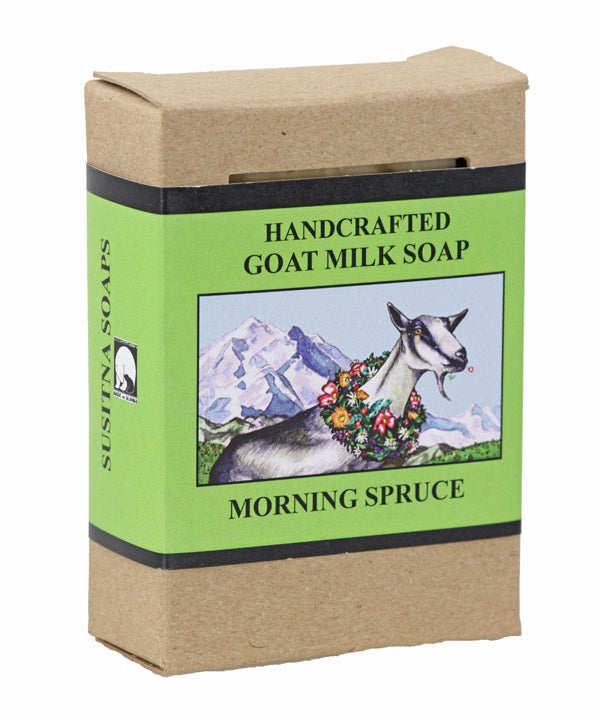 Goat Milk Soap - Morning Spruce
