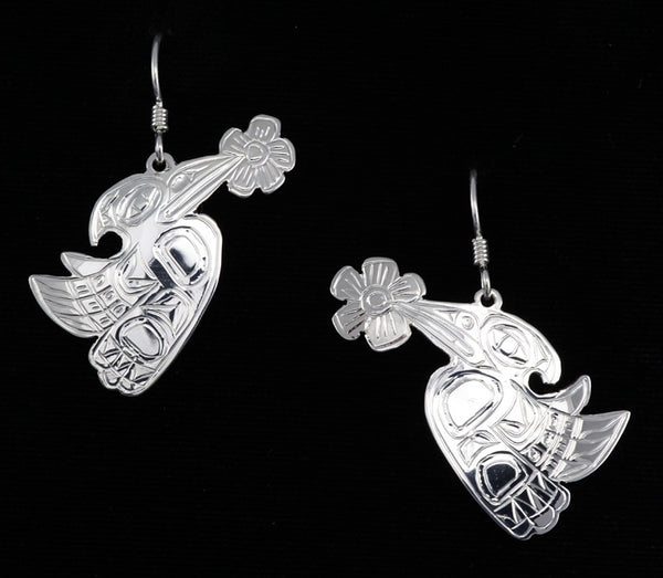 Hummingbird Earrings by Chilton