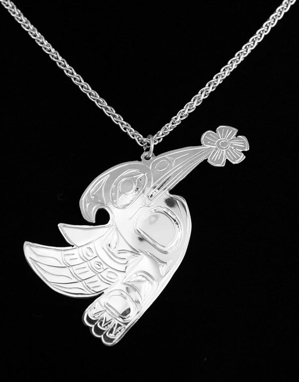 Hummingbird Pendant by Gene Chilton