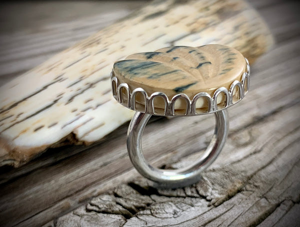 Mammoth Ivory Ring