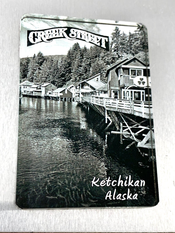 Creek Street & Salmon Magnet