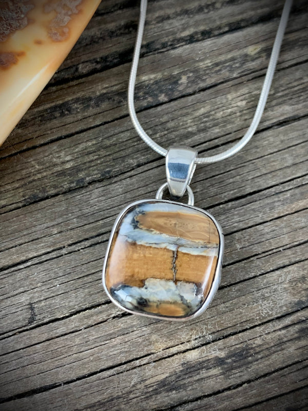Mammoth Tooth Pendant - Small